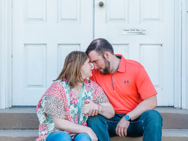 Grace and Rob: Downtown Paducah Riverfront Engagement Session