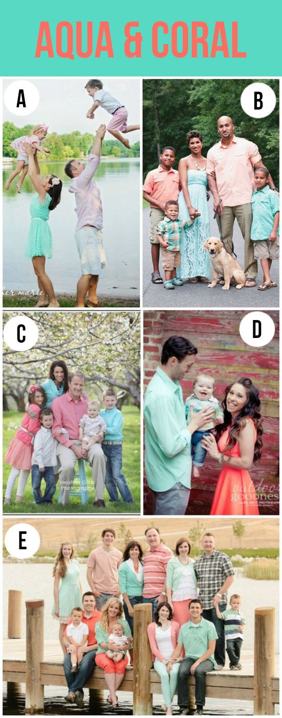 What To Wear For Your Family Portraits