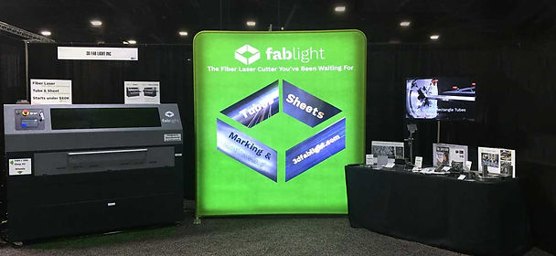 FabLight FabTech Booth