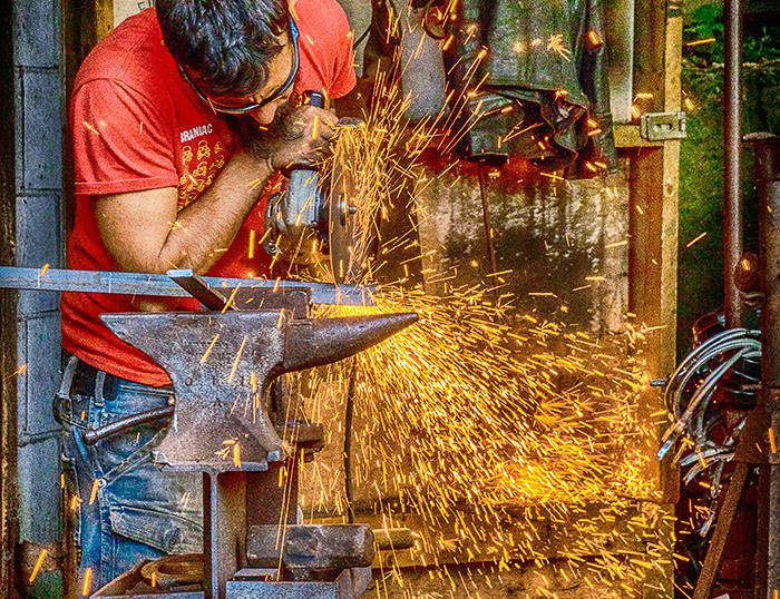 When Sparks Fly At Work by Michelle