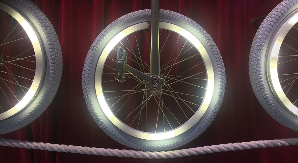 The Illuminated Wheel by Andy Madrecki