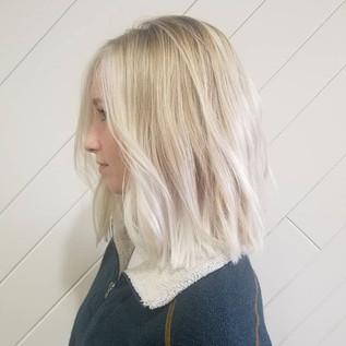 Balayage 😍#nofilter #balayage #blondeha
