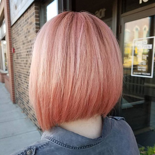 #bumbleandbumble #rosehair #bob #haircut