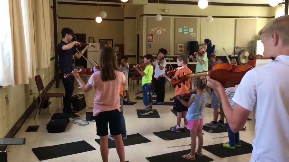 Davis West - String Improv Class @ Sturgis Music Academy