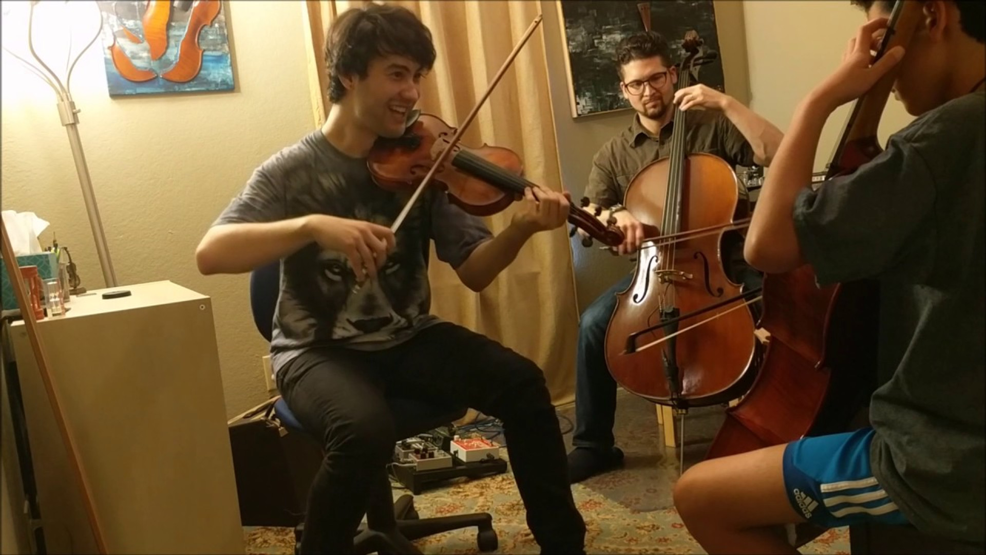 Centuries by Fall Out Boy - Cello Improv Cover