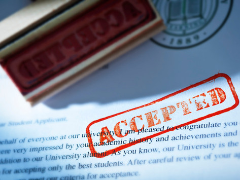 What to do with acceptance letters and scholarship offers