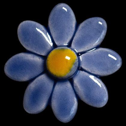 Ceramic Flower Blue Daisy No.2