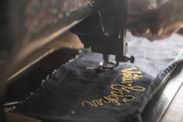 Rocketmachine chainstitch show vaterundsohn hamburg embroidery handmade