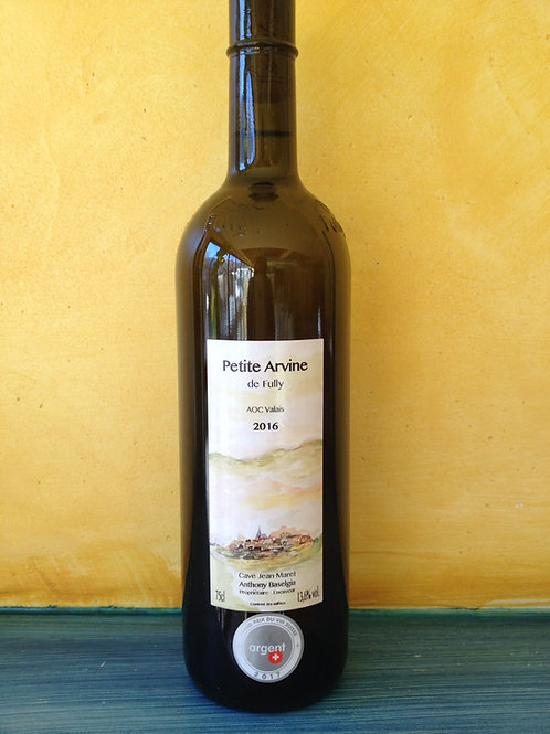 Petite Arvine AOC sèche 75 cl
