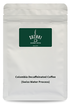 Colombia Decaffeinated Coffee (Swiss Water Process) (200g/bag)