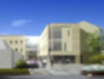 Witney College exterior architecture 1.j