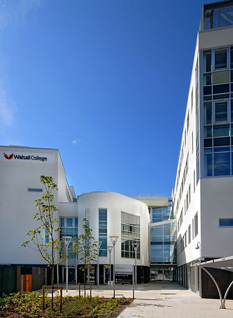 Walsall College exterior architecture la