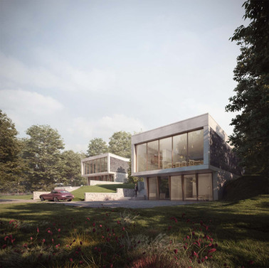 Rise Architects New contemporary houses