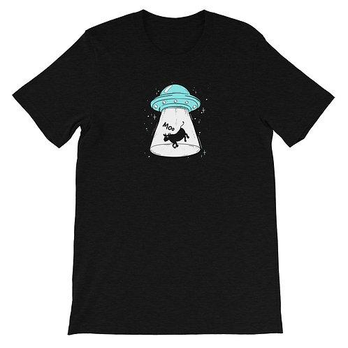 """Short-Sleeve Unisex T-Shirt """"Moo"""""""