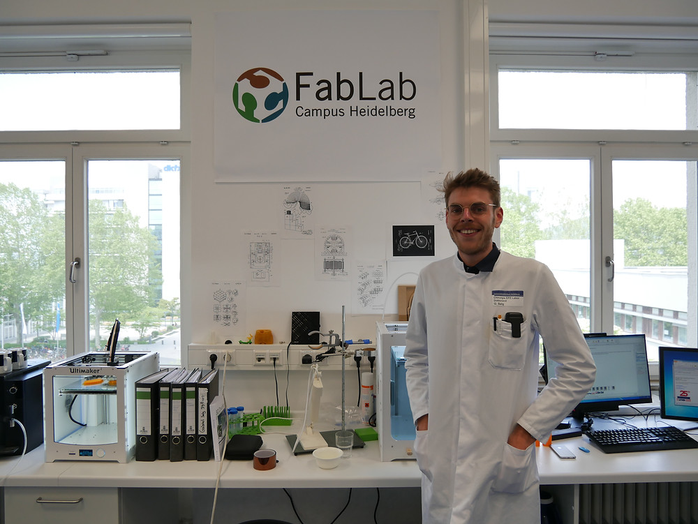 Gabriel is a partner from Universität Hospital in Heidelberg,