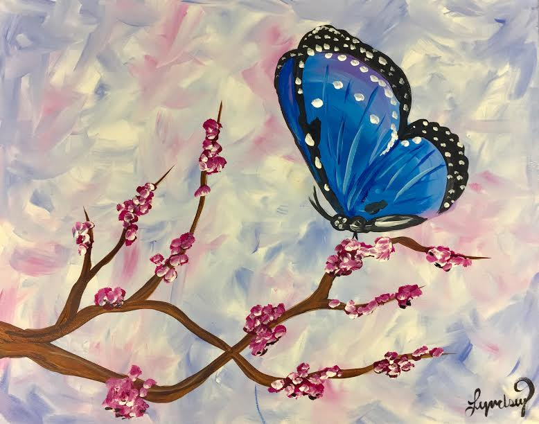 Blossom Butterfly
