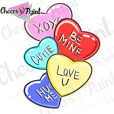 V14 Candy Hearts