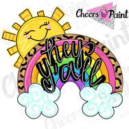 SU1 Rainbow sun