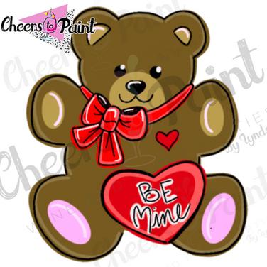 V15 Be Mine Bear
