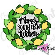 YR7 Lemon Wreath