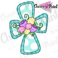 SP2 Floral Cross