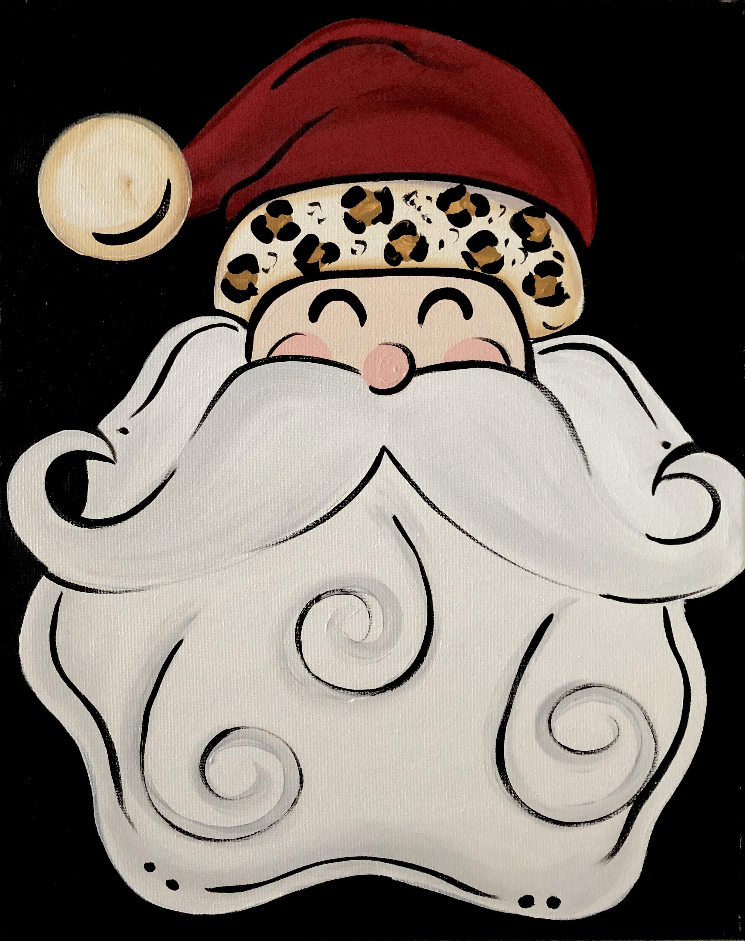 Cheetah Santa