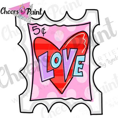 V13 Love Stamp