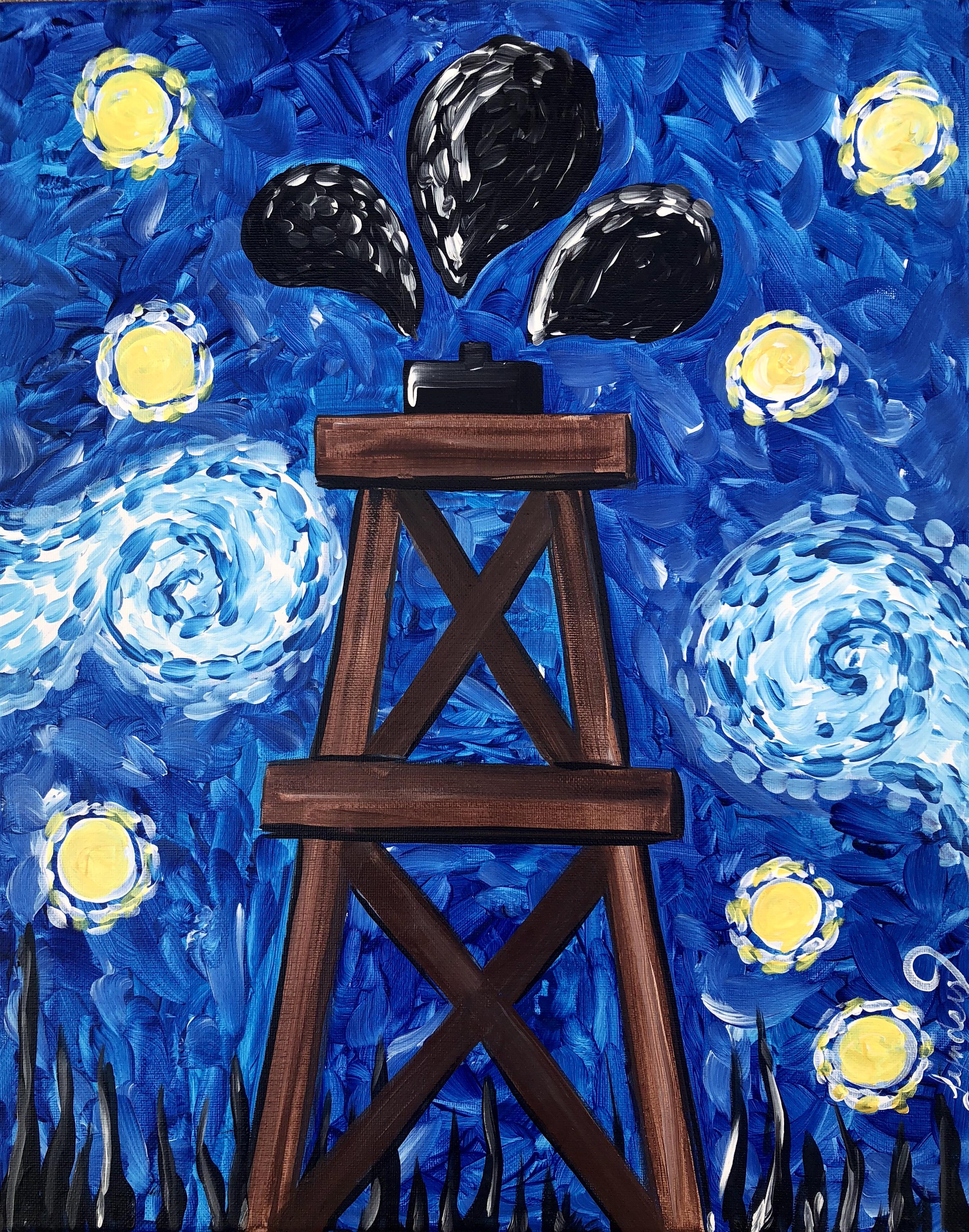 Starry Oil