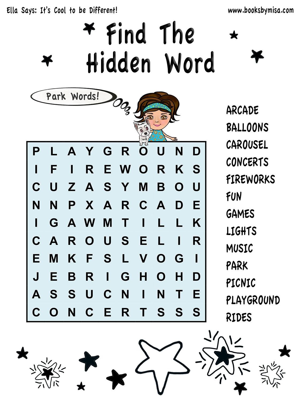 HW Find hidden word 1