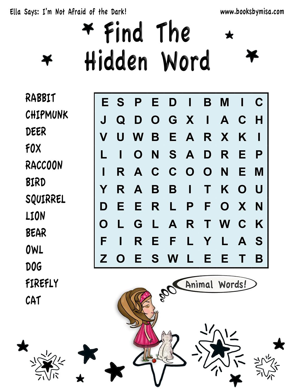 HW Find hidden word 2 sml