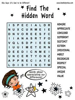 HW Find hidden word 3