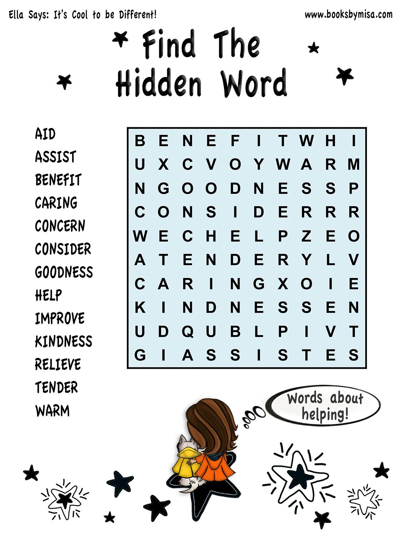 HW Find hidden word 2
