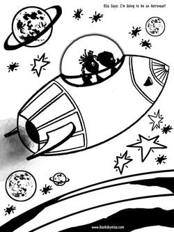 C flying spaceship sml