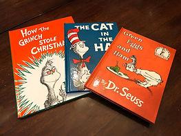 Dr. Seuss books on anu misa children's books site