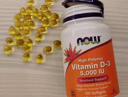 NOW Foods Vitamin D-3 Review