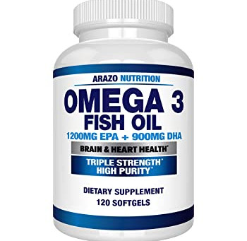 Arazo Nutrition Omega 3 Fish Oil Review