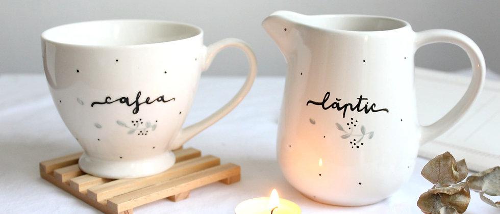 Setul Cafea cu Lapte