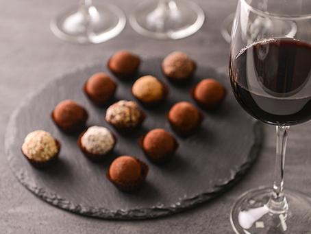 Vinho e chocolate fazem bem para o cérebro!