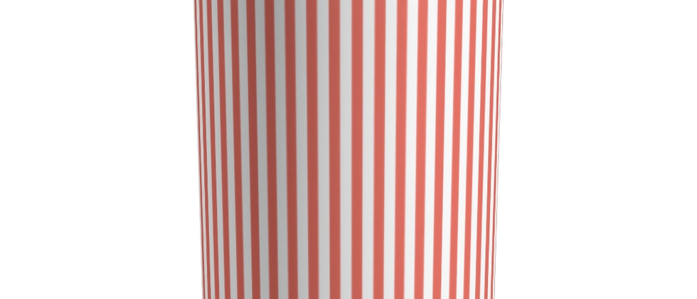 Coral Stripe Tumbler by Charles Tybee