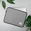 Thumbnail: Black Pinstripe Laptop Sleeve