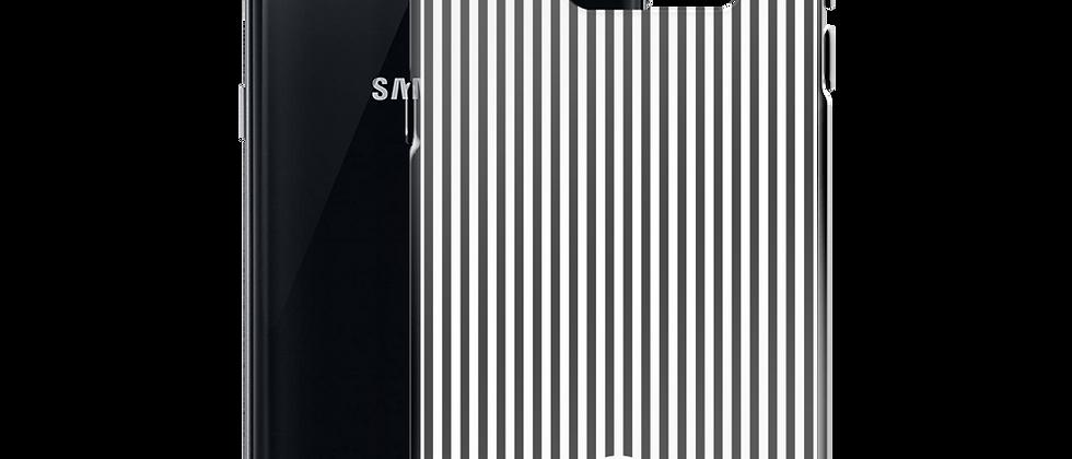 Black Pinstripe Samsung Case