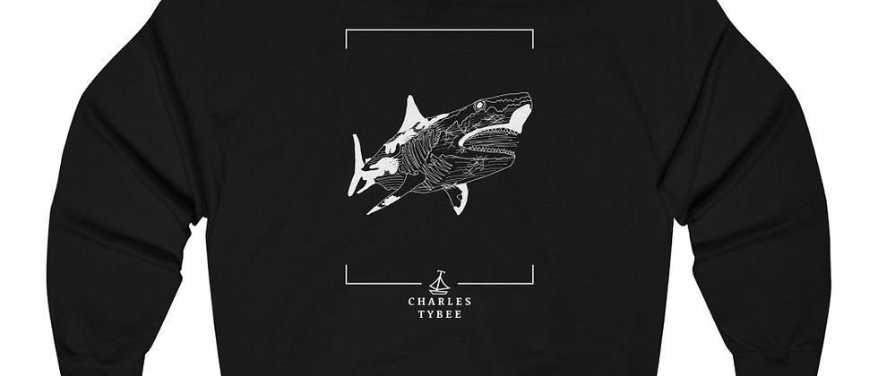 Original Shark Hoodie by Charles Tybee