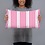 Thumbnail: Pink Vertical Sailboat Pillow