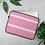 Thumbnail: Pink Horizontal Sailboat Laptop Sleeve