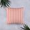 Thumbnail: Coral Pinstripe Pillow