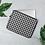 Thumbnail: Black Gingham Laptop Sleeve