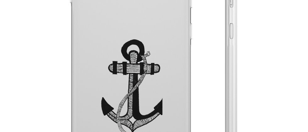 Anchor Phone Case by Charles Tybee
