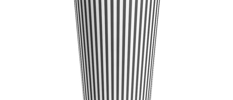 Simplistic Black Stripe Stainless Steel Mug by Charles Tybee