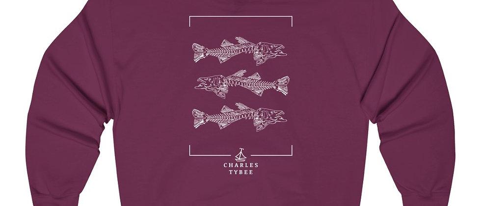 Original Fishbone Hoodie by Charles Tybee