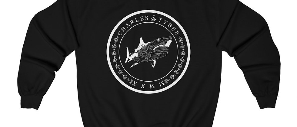 Classic Shark Sweatshirt by Charles Tybee